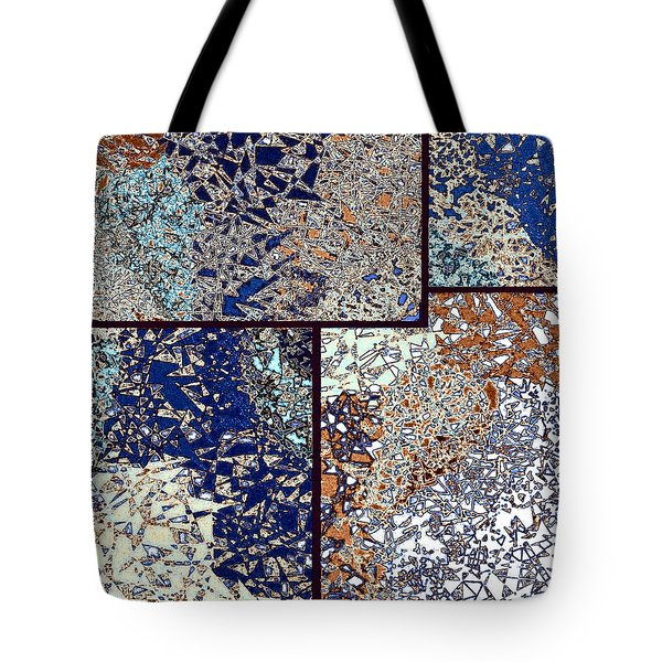 Abstract Fusion 95 Tote Bag by Will Borden