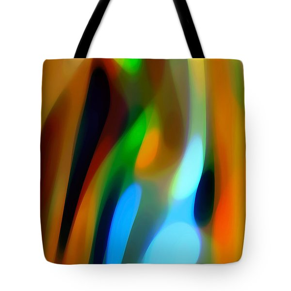 Abstract Garden Light Tote Bag by Amy Vangsgard
