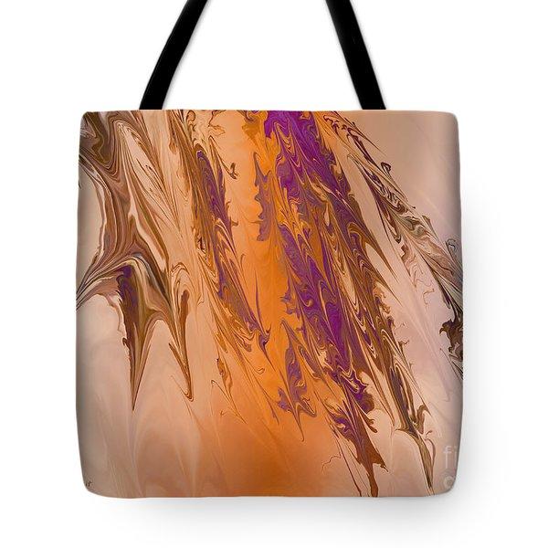 Abstract In July Tote Bag by Deborah Benoit