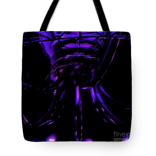 Tote Bag featuring the photograph Abstract Invader by Clayton Bruster