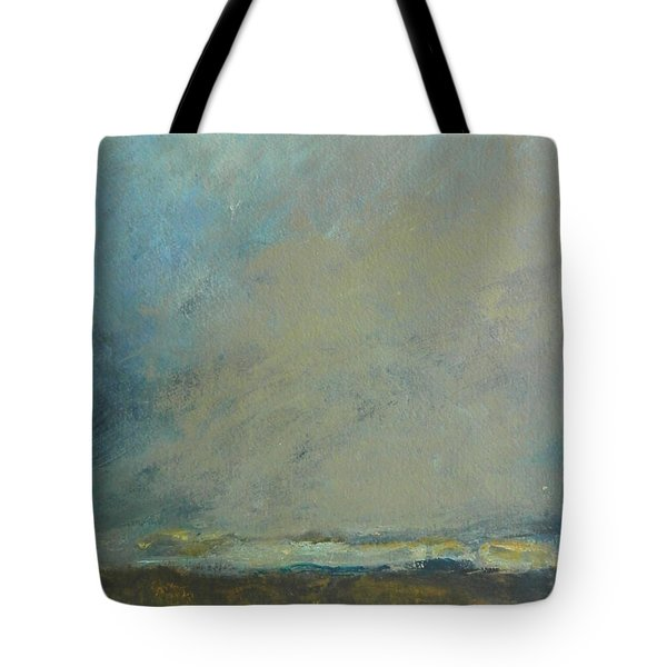 Abstract Landscape - Horizon Tote Bag by Kathleen Grace