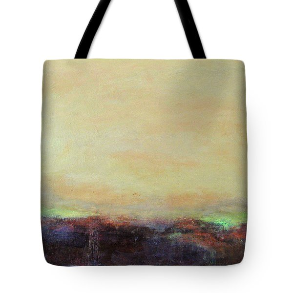 Abstract Landscape - Rose Hills Tote Bag by Kathleen Grace