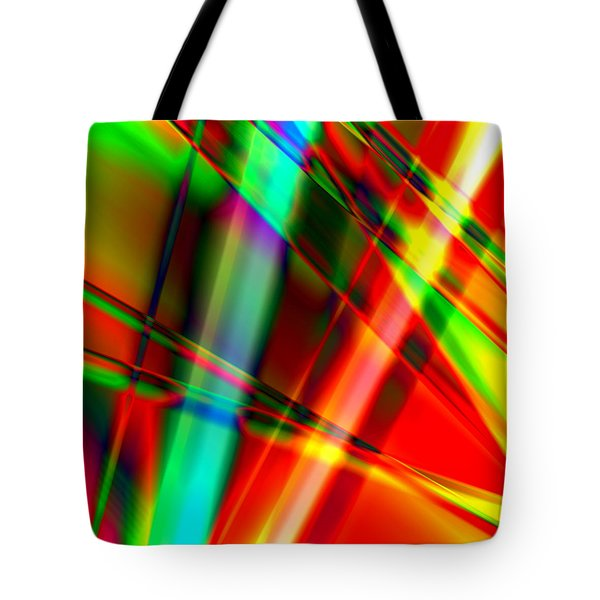Abstract Light Colors Tote Bag