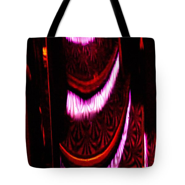 Abstract Magentas Tote Bag by Christopher Holmes
