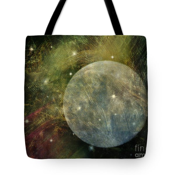 Abstract Moon Tote Bag by Billie-Jo Miller
