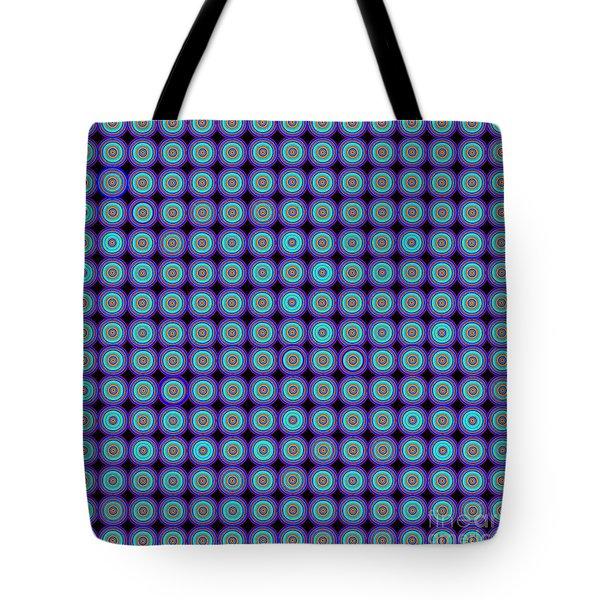 Abstract Print Tote Bag