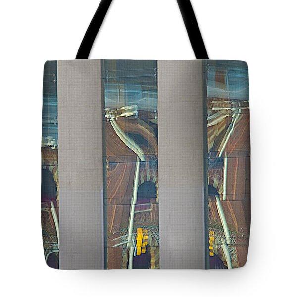 Abstract Reflection 34 Tote Bag