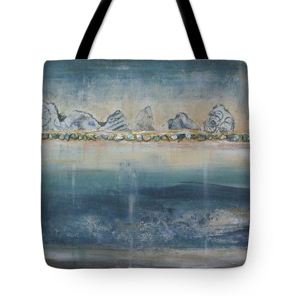 Abstract Scottish Landscape Tote Bag