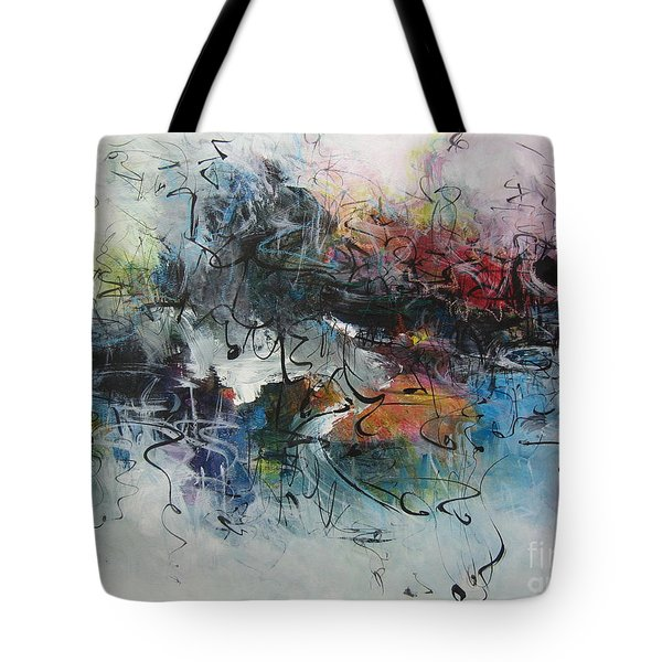 Abstract Seascape00117 Tote Bag by Seon-Jeong Kim