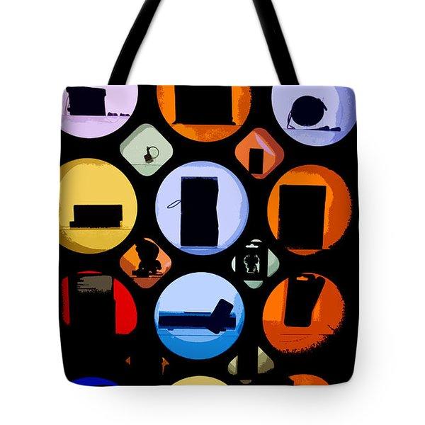 Abstract Stuff Tote Bag