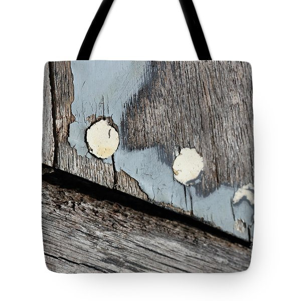 Abstract With Blue Tote Bag