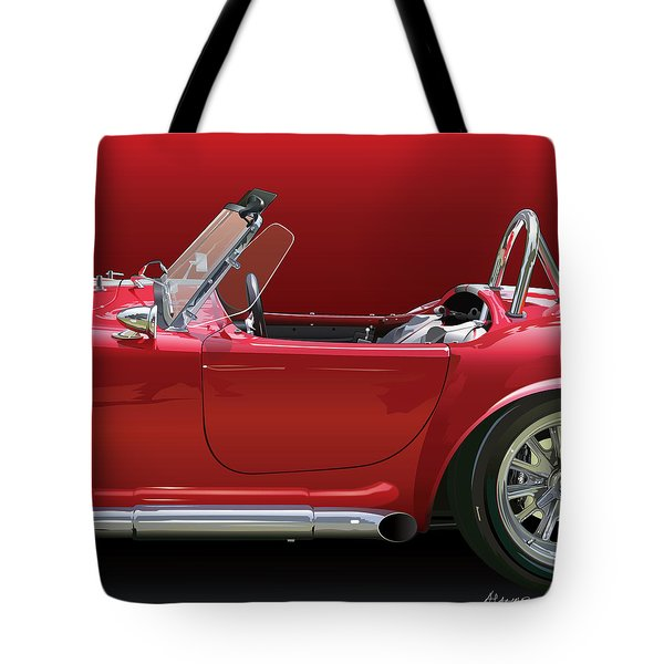 Ac Cobra Detail Tote Bag