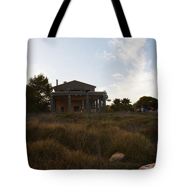 Acces To Es Trenc Tote Bag