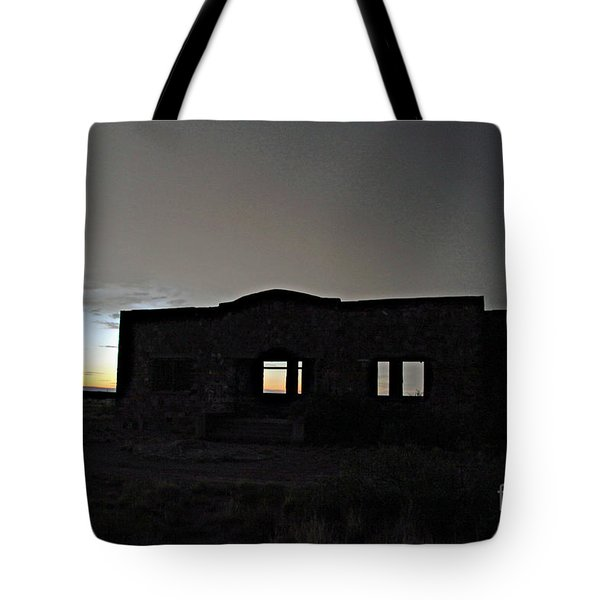 Acme School At Twilight Tote Bag
