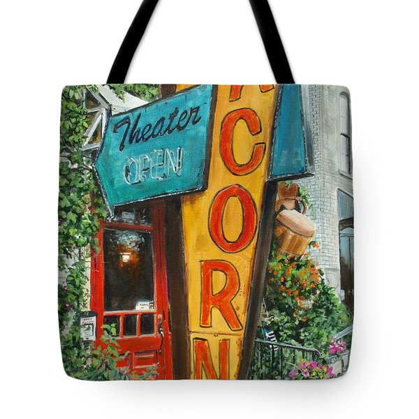 Acorn Theater Tote Bag