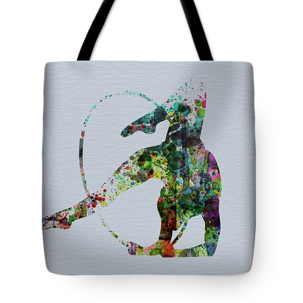 Acrobatic Dancer Tote Bag