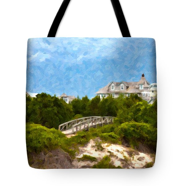 Across The Bridge Tote Bag