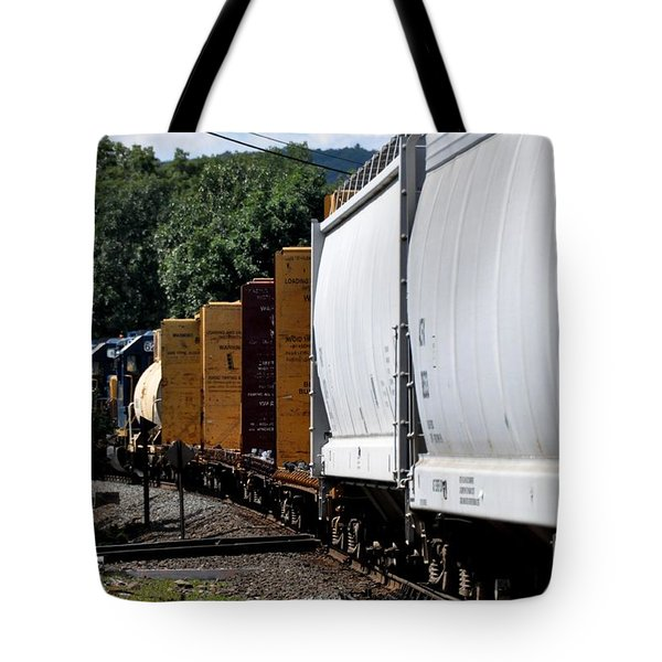 Tote Bag featuring the photograph Across The Diamond by John Black
