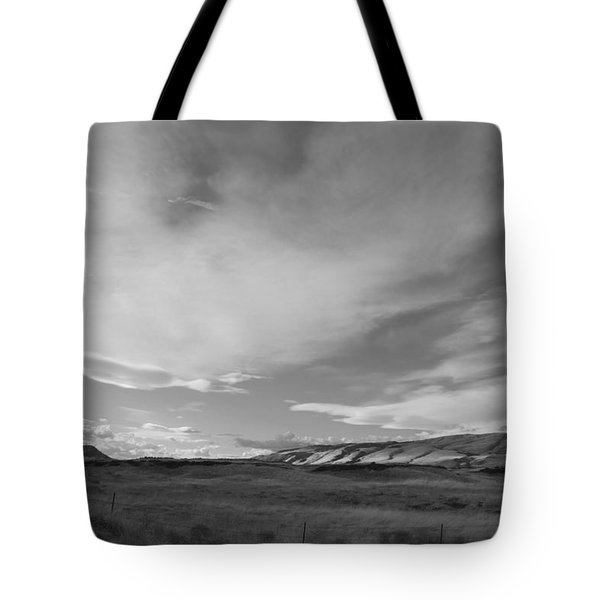 Tote Bag featuring the photograph Across The Valley by Kathleen Grace