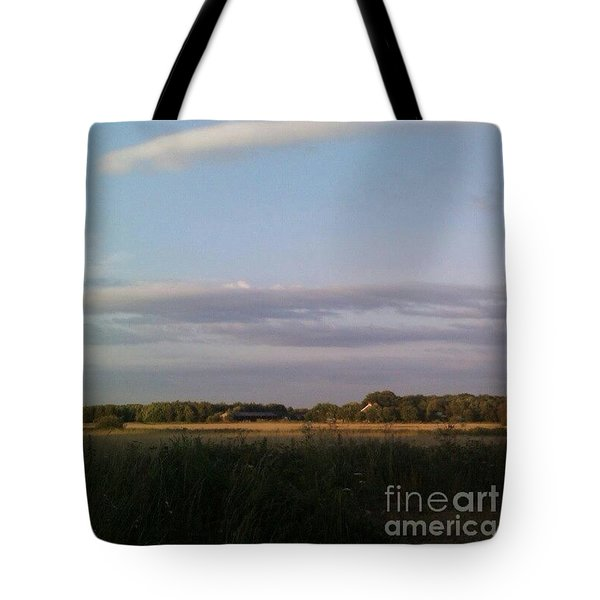 Across To The #farm #instaprints Tote Bag