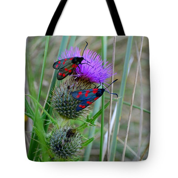 Tote Bag featuring the photograph Active by Barbara Walsh