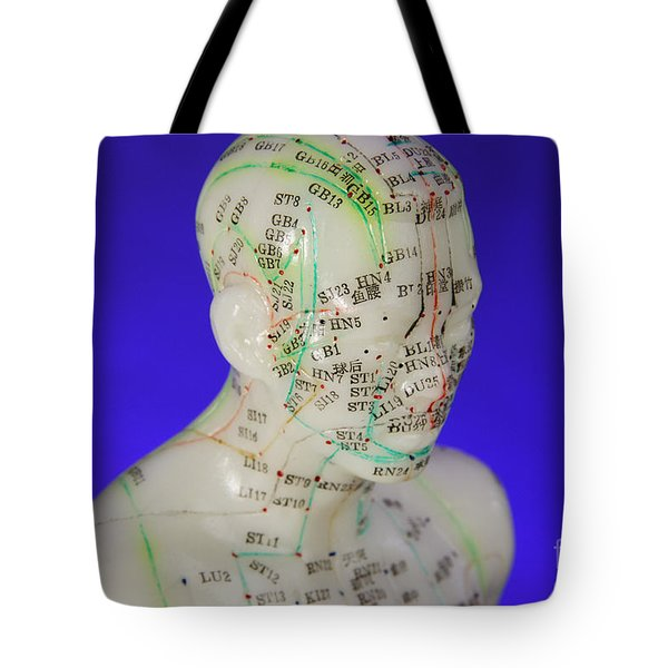 Acupuncture Point Tote Bags | Fine Art America
