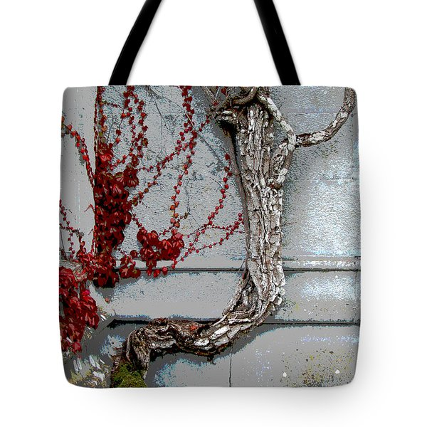 Tote Bag featuring the photograph Adare Ivy by Charlie and Norma Brock