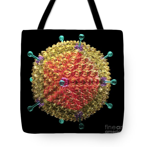 Adenovirus 36 Tote Bag