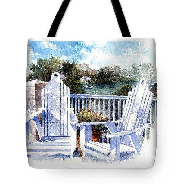 Adirondack Chairs Too Tote Bag