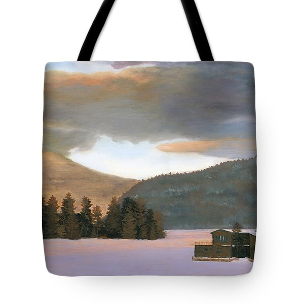 Adirondack Morning Tote Bag