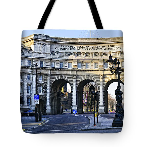 Admiralty Arch In Westminster London Tote Bag by Elena Elisseeva