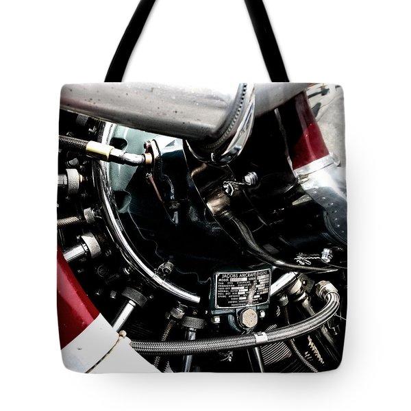 Aero Machine 6 Tote Bag by Nathan Larson