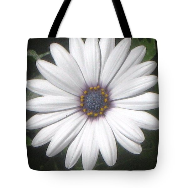 African Daisy Glow Tote Bag