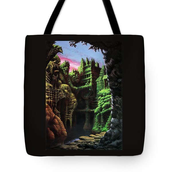 After A Long Silence Tote Bag by Tony Hough