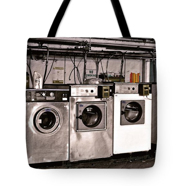 After Enlightenment The Laundry. Tote Bag by Gwyn Newcombe