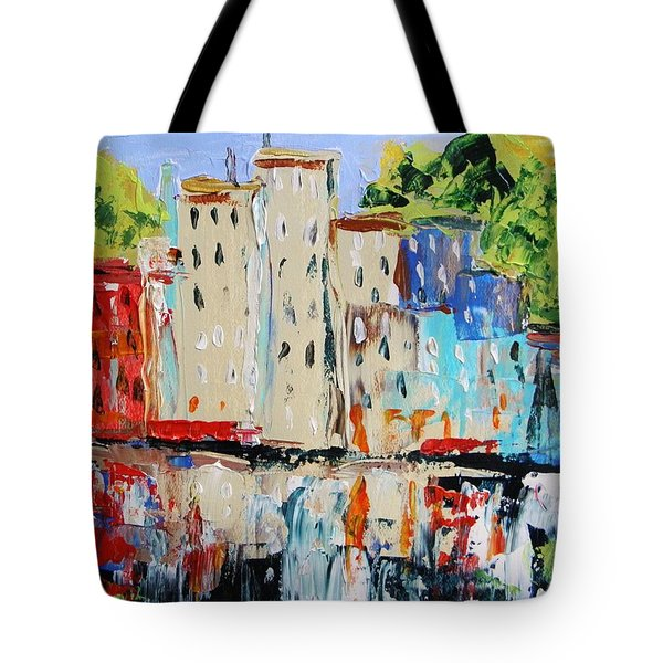 After Hours-reflection Tote Bag by John Williams