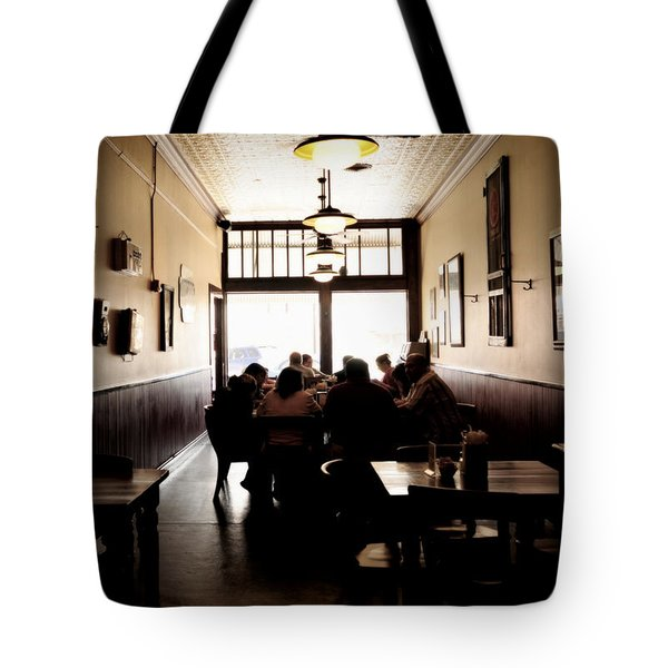 After Sunday Services Tote Bag