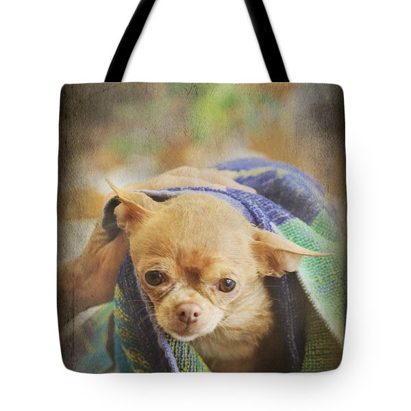 After The Bath Tote Bag by Laurie Search