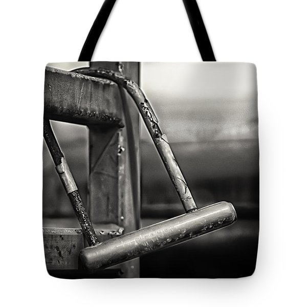 Tote Bag featuring the photograph After The Horse Has Bolted by Tom Gort
