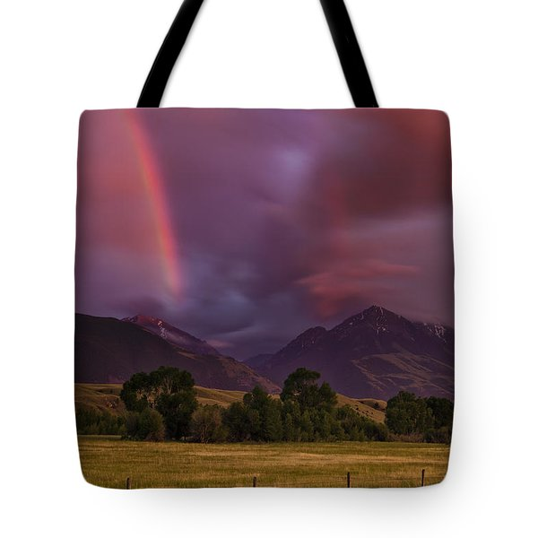 After The Storm Tote Bag by Andrew Soundarajan