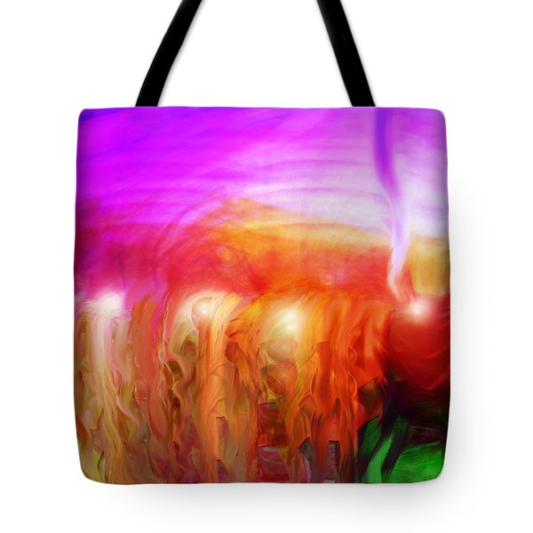 After The Storm Tote Bag by Linda Sannuti