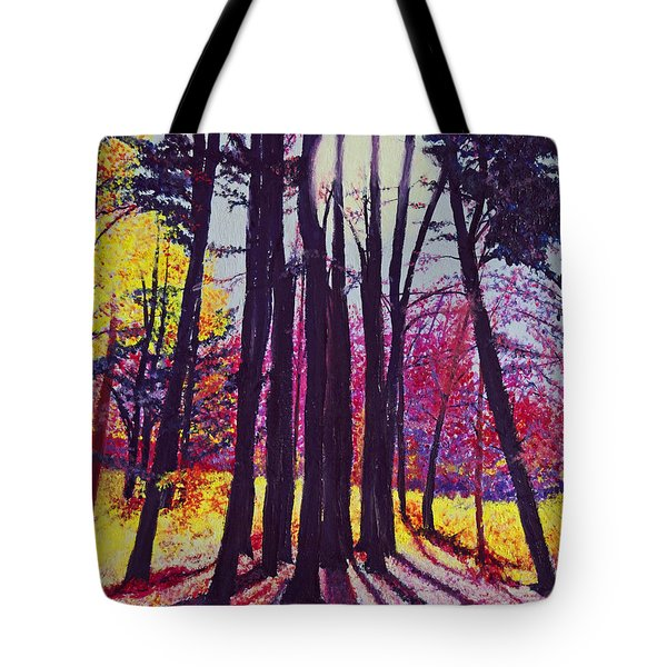 Afternoon Forest Tote Bag