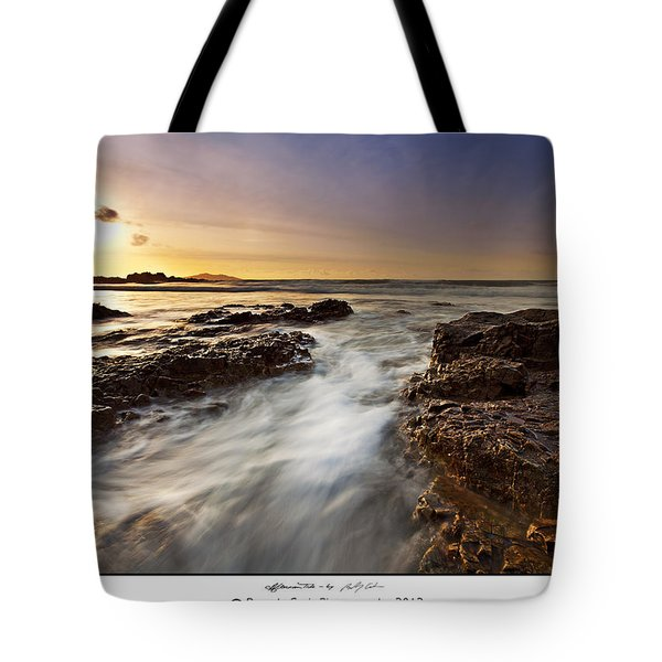 Tote Bag featuring the photograph Afternoon Tide by Beverly Cash