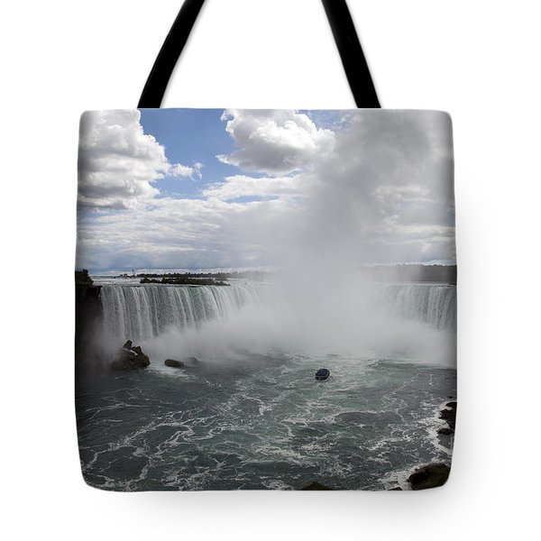 Against The Current Tote Bag by Amanda Barcon