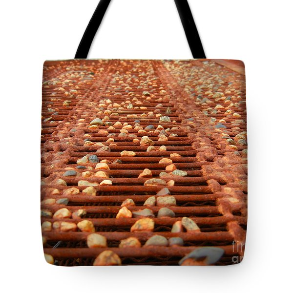 Against The Grate Tote Bag