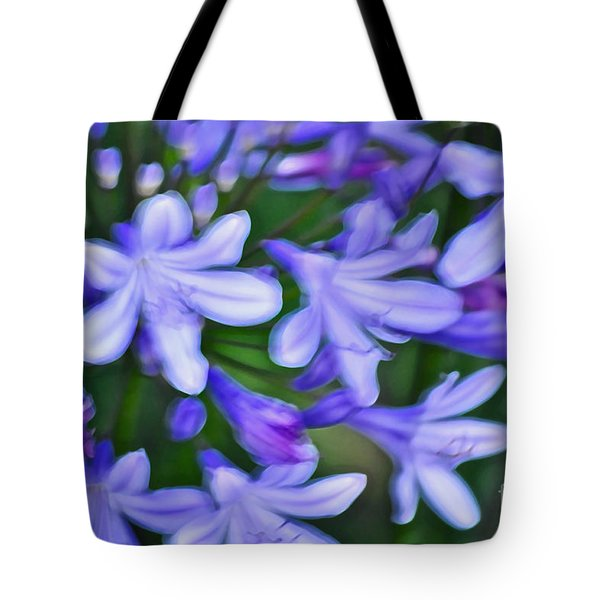 Agapanthus Tote Bag by Gwyn Newcombe