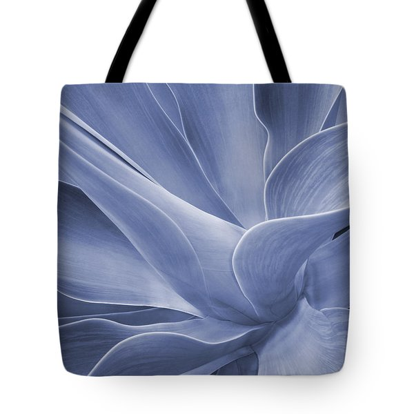 Agave In Blue Tote Bag