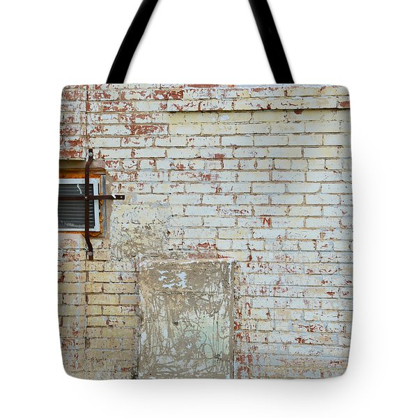 Aged Brick Wall With Character Tote Bag by Nikki Marie Smith