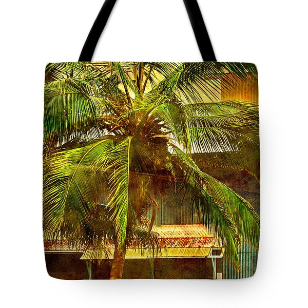 Aged Hawaiian Tote Bag by Paulette B Wright