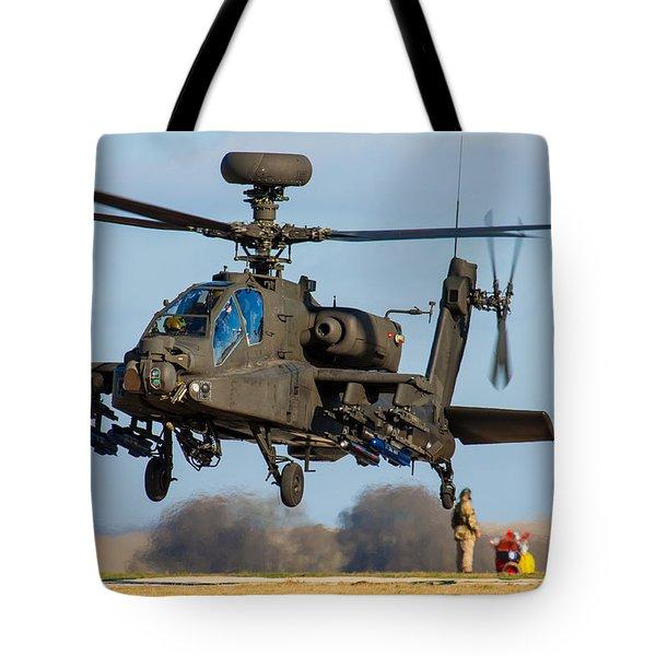 Ah64 Apache Tote Bag